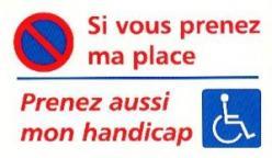Affiche handicap