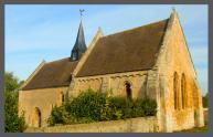 Soumont Saint Quentin Eglise d'Aizy